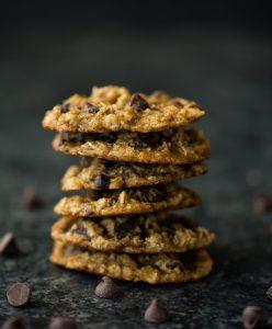 przepis na zdrowe ciasteczka owsiane