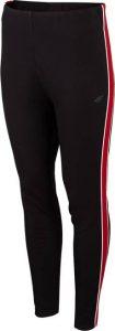 modne i sportowe legginsy czarne 4F