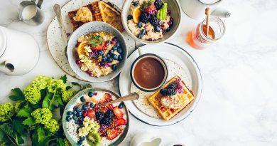 Miód z maliną na śniadanie