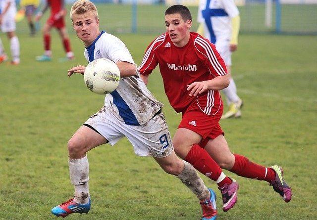 obóz piłkarski - zawodnicy