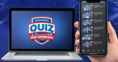 piłkarski quiz pod napięciem - laptop